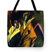 Two Women On The Street Tote Bag