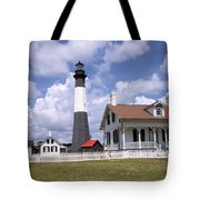 Tybee Island Light Tote Bag