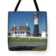 Tybee Island Lighthouse Ga Tote Bag