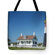 Tybee Island Lighthouse Georgia Tote Bag