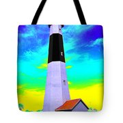Tybee Island Lighthouse - Photopower Tote Bag