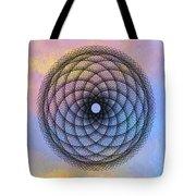 Tye Dye Spirograph Tote Bag