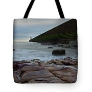 Tynemouth Pier II Tote Bag