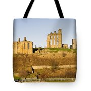 Tynemouth Priory And Castle Tote Bag