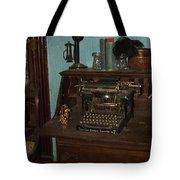 Type Something Tote Bag