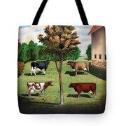 Typical Cows  Tote Bag