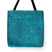Typical Whorl Pattern, 1900 Tote Bag by Science Source