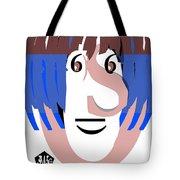 Typortraiture Ringo Starr Tote Bag