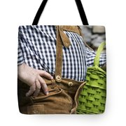 Tyrolean Man Tote Bag