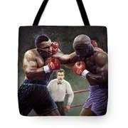 Tyson/holyfield Tote Bag