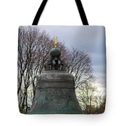 Tzar Bell Of Moscow Kremlin - Square Tote Bag
