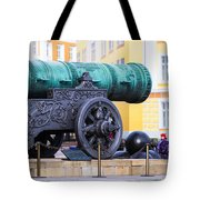 Tzar Cannon Of Moscow Kremlin Tote Bag