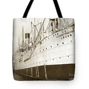 U. S. Army Transport Logan San Francisco California  1898 Tote Bag