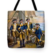 U S Navy Commander In Chief Of The Fleet Tote Bag by The Werner Company