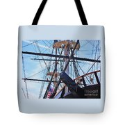 An Aspect Of The U S S Constellation, Baltimore Tote Bag