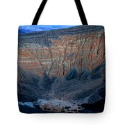 Ubehebe Crater Twilight Death Valley National Park Tote Bag