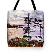 Ucluelet In December Tote Bag
