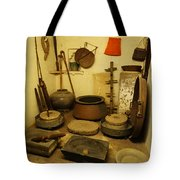 Udaipur City Palace Rajasthan India Queens Kitchen-2 Tote Bag