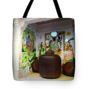 Udaipur City Palace Rajasthan India Queens Kitchen Tote Bag