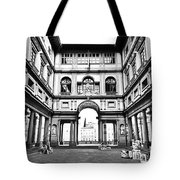 Uffizi Gallery In Florence Tote Bag