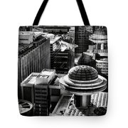 Ufo Parking Lot Tote Bag
