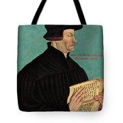 Ulrich Zwingli Tote Bag