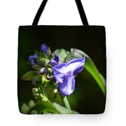 Ultra Violet Wildflower Tote Bag