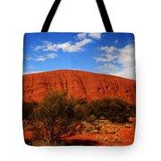 Uluru Central Australia Tote Bag