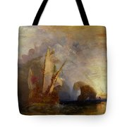 Ulysses Deriding Polyphemus Tote Bag