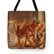 Ulysses Revenge On Penelopes Suitors Tote Bag