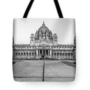 Umaid Bhawan Palace Monochrome Tote Bag