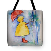 Umbrella Boy II Tote Bag