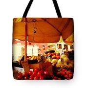 Umbrella Fruitstand - Autumn Bounty Tote Bag