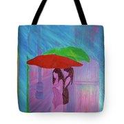 Umbrella Girls Tote Bag