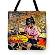 Umbrella Maker - Paint Tote Bag