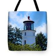 Umpqua River Lighthouse Tote Bag