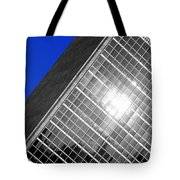 Un Building Tilted Tote Bag