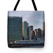 Un Buildings - Riverside Tote Bag
