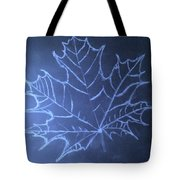 Uncertaintys Leaf Tote Bag by Jason Padgett