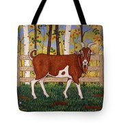 Uncle Billy's Goat Tote Bag