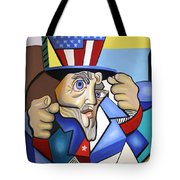 Uncle Sam 2001 Tote Bag