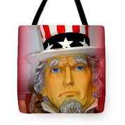 Uncle Sam Wants You Tote Bag