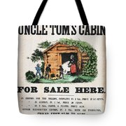 Uncle Tom's Cabin, C1860 Tote Bag