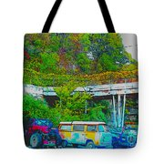 Uncle Tom's Toybox Tote Bag