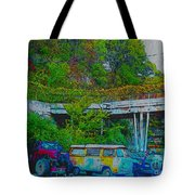 Uncle Tom's Toybox Painted 2 Tote Bag