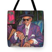 Uncle With Time On His Hands Tote Bag