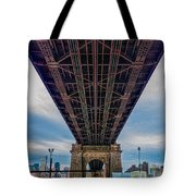 Under 59th Street Bridge Tote Bag