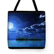 Under A Silvery Moon... Tote Bag