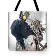 Under Cover Black-backed Tote Bag