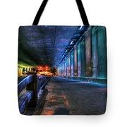 Under Lasalle St. Station Tote Bag
